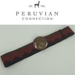 Peruvian Connection Pima Cotton Knit Belt
